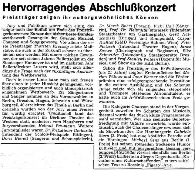 1991.11._Bundeswettbewerb_Gesang_04b_Kritik