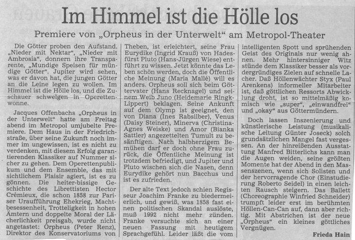 1992.03._Orpheus_in_der_Unterwelt_04_Kritik