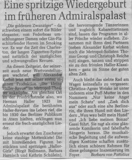 1992.12._Hallerrevue_04_Kritik