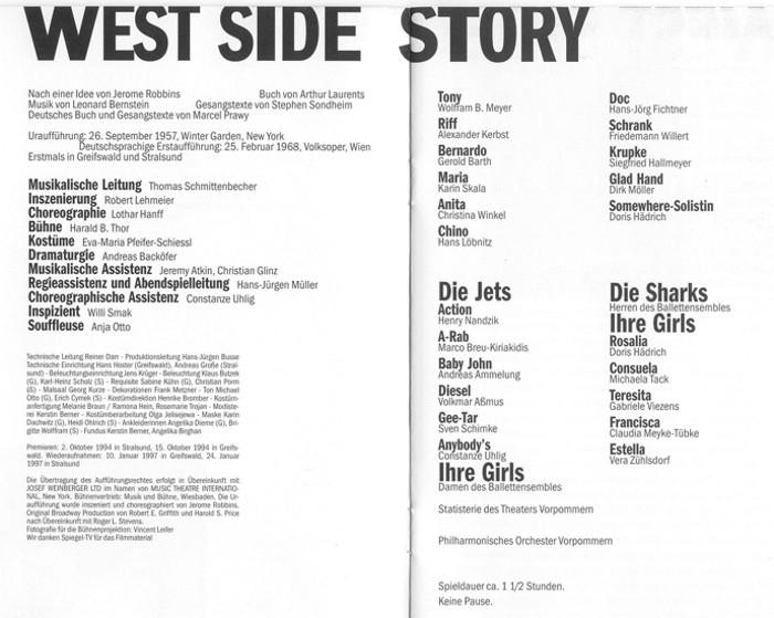 1997.01._West_side_story.Th.Vorpommern.02_Besetzung
