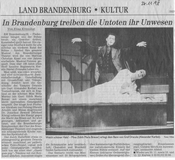 1998.11._Dracula_04_Kritik