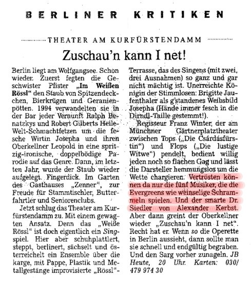 2000.09._Im_Weissen_Roessl_04_Kritik