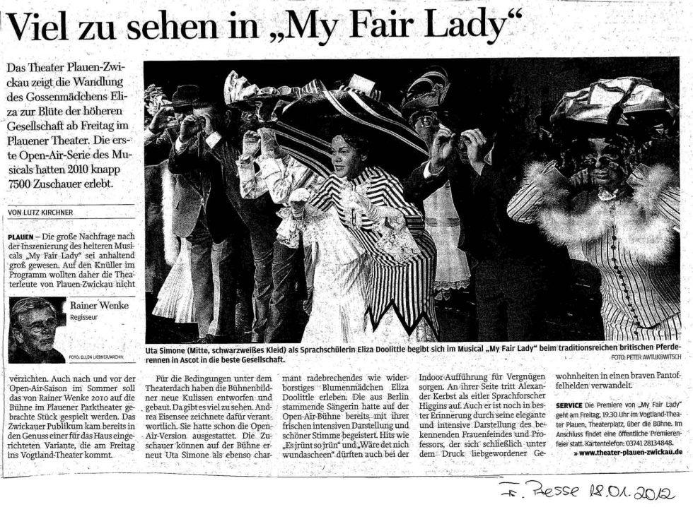 Viel-zu-sehen-in-My-fair-Lady,-Fr.-Presse-18.01.2012-PL