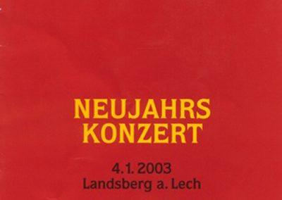 Neujahrskonzert Nürnberg 2003