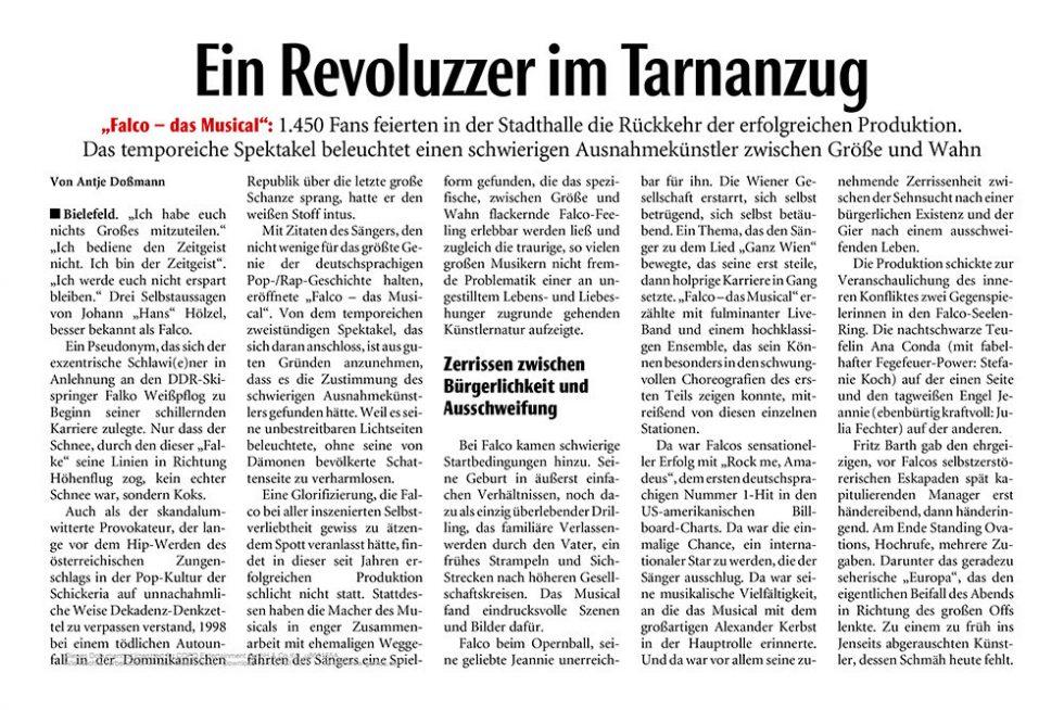 Neue Westfälische Zeitung 2019
