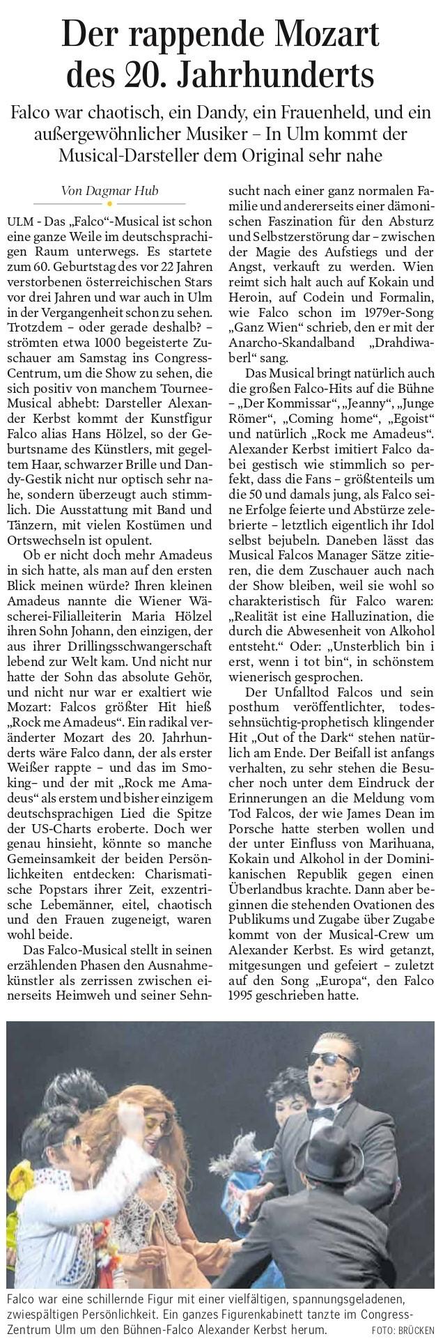 Schwäbische Zeitung 2020